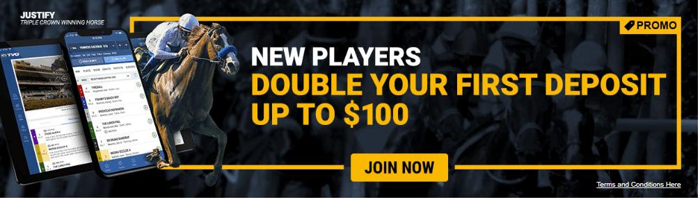 TVG Promo Code 2019: Get Up to $100